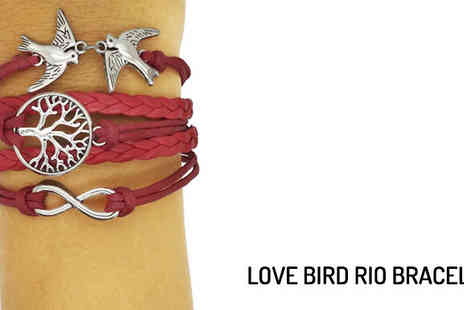 jewelambassador - Two Rio Amalfi Bracelets Eight Designs Available - Save 88%