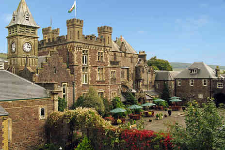 Craig Y Nos Castle - Two night castle stay for two with breakfast, dinner and a glass of wine each - Save 21%