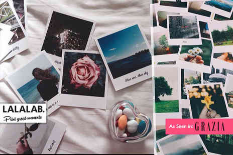 Lalalab - 30 vintage Polaroid style photo prints - Save 66%