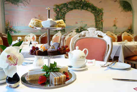 The Colonnade Hotel - Sparkling afternoon tea for two including sandwiches, scones, cakes and more - Save 63%