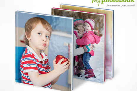 myphotobook - Hardcover Classic Photo Book 36, 96 or 144 Page - Save 57%