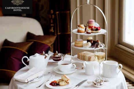Carnbooth House Hotel - Afternoon Tea with Glass of Prosecco Each - Save 51%