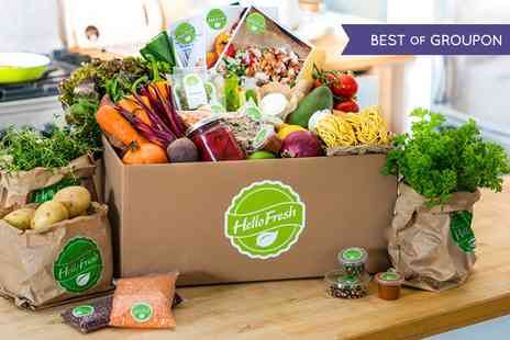 HelloFresh - Award Winning HelloFresh Food and Recipe Boxes - Save 65%