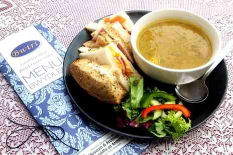 The Wrexham Museum - Soup and Sandwich for One - Save 41%