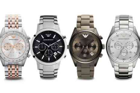 I love watches - Emporio Armani Men's Watches in Choice of Style With Free Delivery - Save 55%