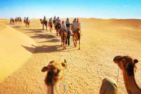 Memorable Morocco - Four Nights Stay and glamp in the Sahara With camel ride  - Save 0%