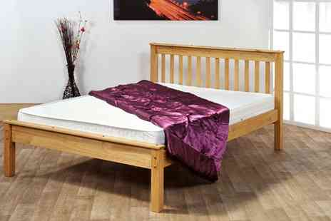 Amani International  - Chester Solid Pine Bed - Save 66%