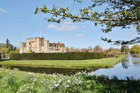 Abbey Travel  - Day long guided coach tour to Whitstable and Hever Castle  - Save 57%