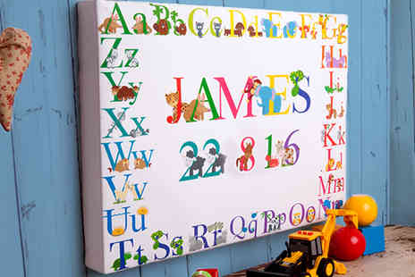 The Creative Canvas Company - A Creative Kids Canvas in a Variety of Sizes - Save 65%