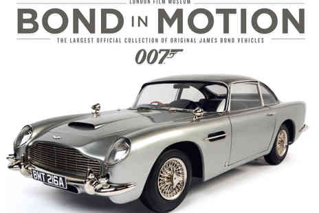 The London Film Museum - Bond In Motion Tickets  - Save 24%