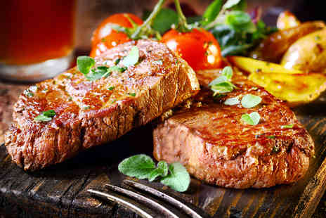 Velvet Music Rooms - Starter and a Steak with a Choice of Drink for Two  - Save 56%