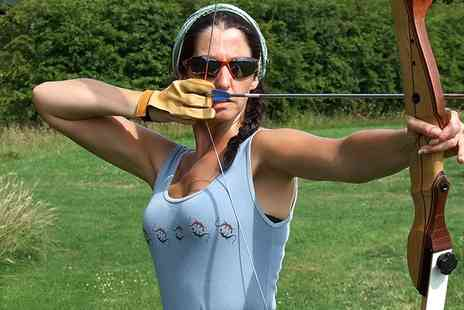 Rob Ireland Activities - 90 Minute Field Archery Experience For One - Save 60%