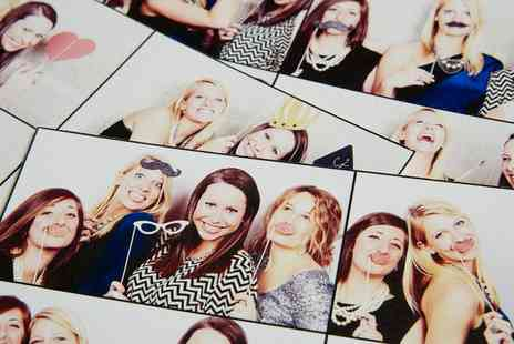 Mesmerized Events -  Three Hour Photobooth Hire with Unlimited Visits and Photos  - Save 0%
