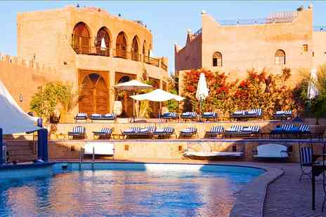 Kasbah Le Mirage - One to Nine or 14 Nights For Two With Transfers and Option With Massage  - Save 0%