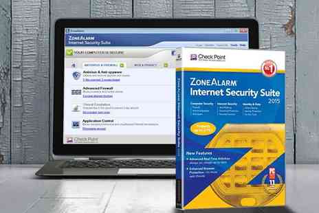 Avanquest - ZoneAlarm Internet Security Download for Three PCs - Save 80%