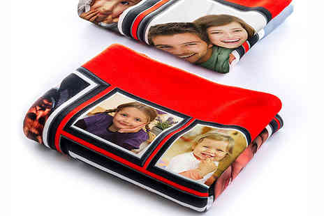 Allpersonalisedblankets - Personalised Polar Photo Reversible Blanket - Save 46%