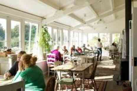 Pythouse Kitchen Garden - Lunch and wine for two  - Save 0%