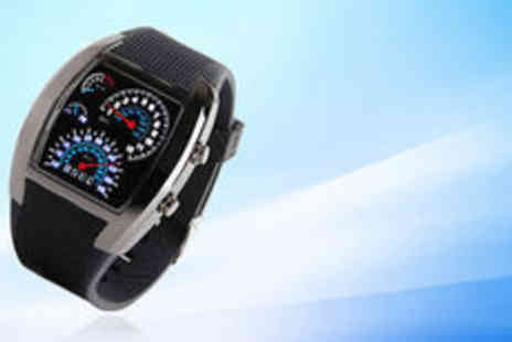 Cocobury - Stylish LED watch Plus Delivery  - Save 0%