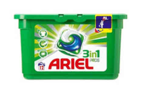 Meadow Vale - 144 Ariel 3 in 1 washing pods plus delivery - Save 0%