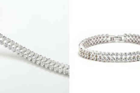 Cartres - Aerin Cubic Zirconia bracelet  plus delivery - Save 0%