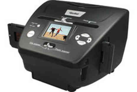 Sonic - Rollei PDF-S240 5.1MP slide, negative and print scanner  plus delivery - Save 0%
