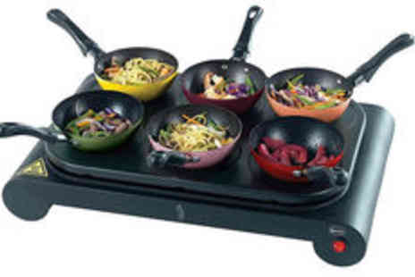 Meadow Vale - Come Dine with Me party wok and pancake maker set Plus Delivery  - Save 0%