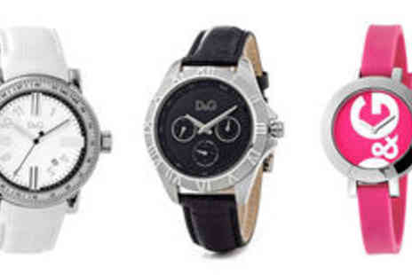 Quirky Deals - Unisex Dolce & Gabbana watch in choice of styles plus delivery  - Save 0%