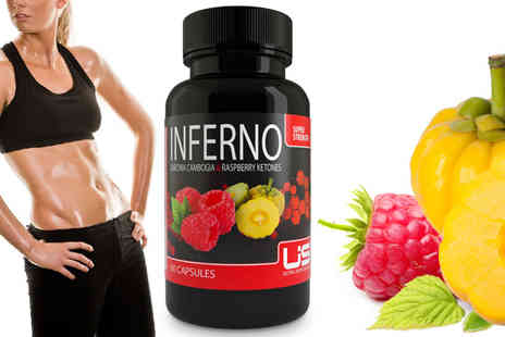Ultra Supplements - Inferno Super Strength Raspberry  Garcinia  - Save 78%