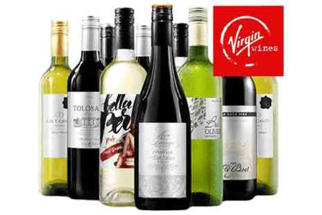 Virgin Wines Online  - mixed ten bottle case of essential Autumn favourites   - Save 0%
