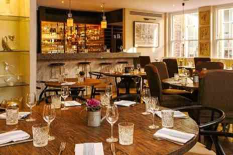 Leander Ventures  -- Chateaubriand & Champagne for 2 at Mayfair Brasserie - Save 62%