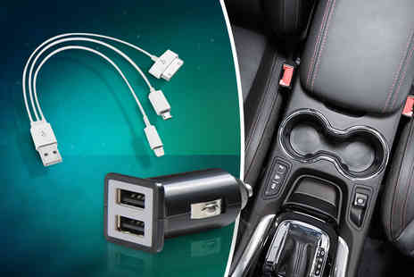 Hedoo - Four in One  car charging kit - Save 84%