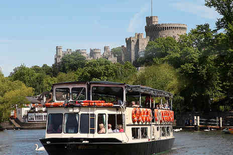 French Brothers - Magna Carta River Cruise with a Sightseeing Tour and Afternoon Tea for Two - Save 31%