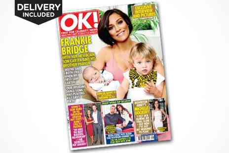 OK Magazine -  Six Month, 26 Issue Subscription, Delivery Included - Save 63%