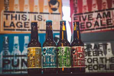 Brewdog All Deals - Beer Tasting and Talk with Five Craft Beers, Cheese and Meats for Two - Save 0%