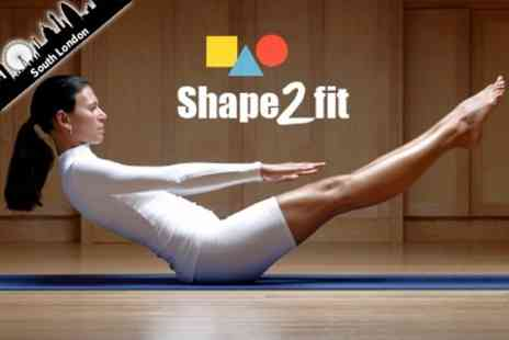 shape 2 Fit - Six Individual 1 Hour Pilates or Body Toning Courses for £10 at Shape 2 Fit (£36 Value) - Save 72%