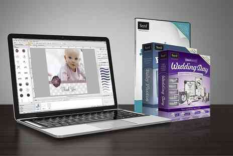 Binary Distribution - Serif CraftArtist 2 Professional  Plus Baby Photo and Wedding Day Content  - Save 60%
