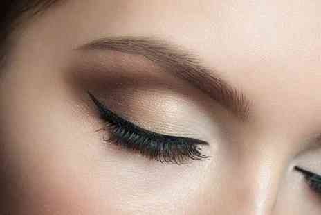 Naf Salon - Eye pamper package including an eyebrow wax, shape with an eyebrow and eyelash tint  - Save 54%