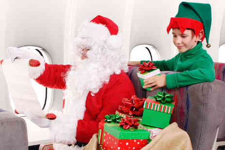 The Omega Holidays Group - Meet Santa in the Sky excursion with a pre flight show, refreshments and a present per child  - Save 0%