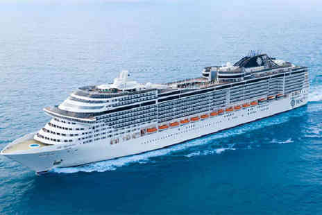 Cruise Holidays - Seven night all inclusive Mediterranean cruise with airport transfers - Save 29%
