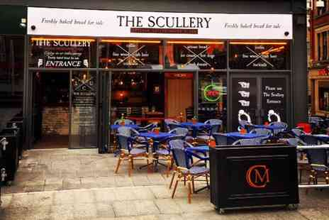 The Scullery - Hot Dogs and Drinks for Two  - Save 47%