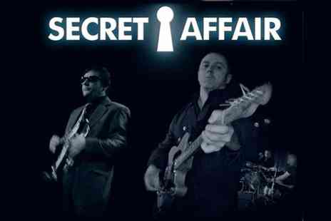 AGMP - One Ticket to Secret Affair Concert  - Save 36%