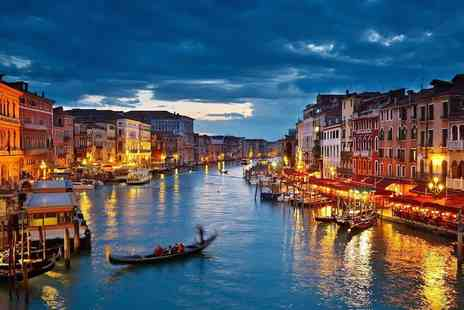 Kappa Hotel  - Two or Three night stay romantic break to Venice including buffet breakfast - Save 0%