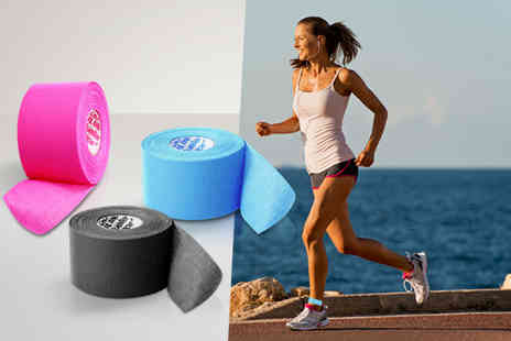121 Mart - Five metre roll of kinesiology athletic tape  - Save 63%