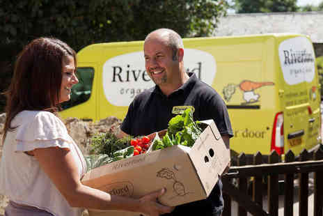 Riverford Organic - Three Riverford Organic Veg Boxes - Save 53%