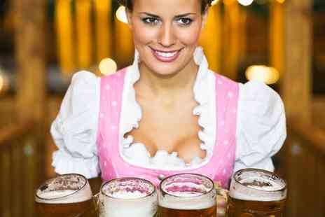 London Fields Brewery - Entry to Oktoberfest  with Craft Beer and a Pretzel or Bratwurst on 3 October - Save 33%