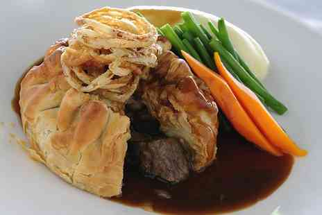 Ebis - Steak Pie or Fish With Chips and Tea or Wine For Two  - Save 46%