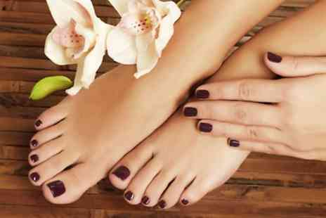Heaven - Gel Polish Manicure, Pedicure, or Both  - Save 0%
