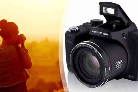 IT Industries - Praktica Luxmedia 20Z35W Digital Camera - Save 33%