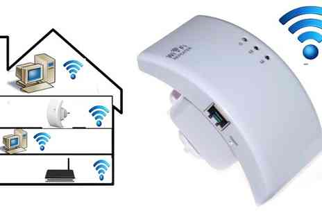 AMS Global - Wi Fi Signal Booster - Save 60%