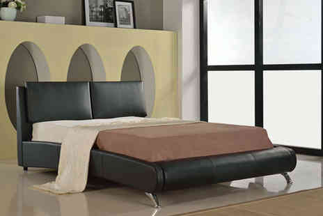 Sleep Solutions - Double Italian style bed  - Save 70%
